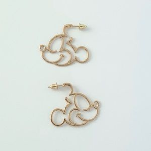 Large Mickey Mouse Earrings (M17)